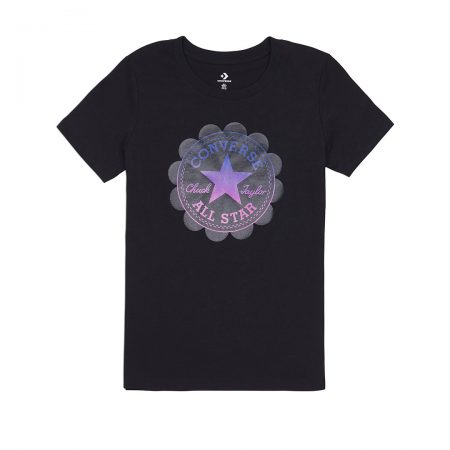 OMBRE CHUCK PATCH SHORT SLEEVE TEE TOP